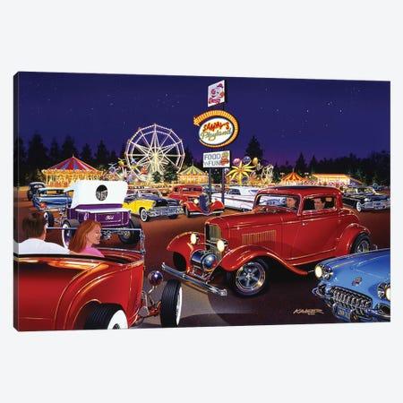 Sammy's Playland Canvas Print #KSR22} by Bruce Kaiser Art Print