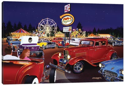 Sammy's Playland Canvas Art Print