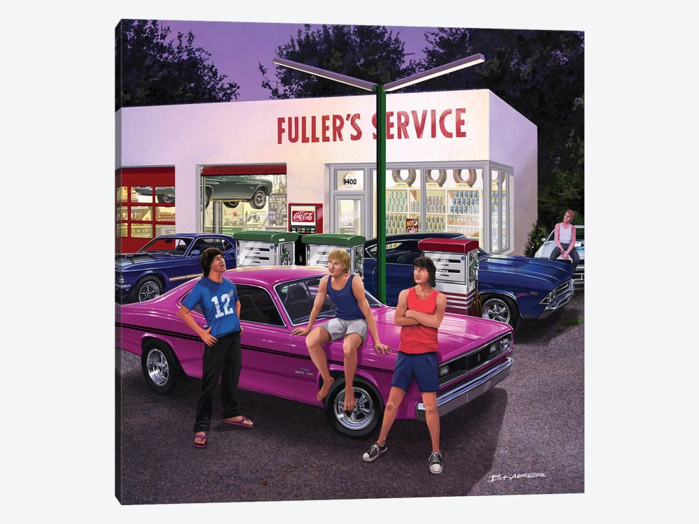 Surviving The '70s by Bruce Kaiser 1-piece Canvas Print