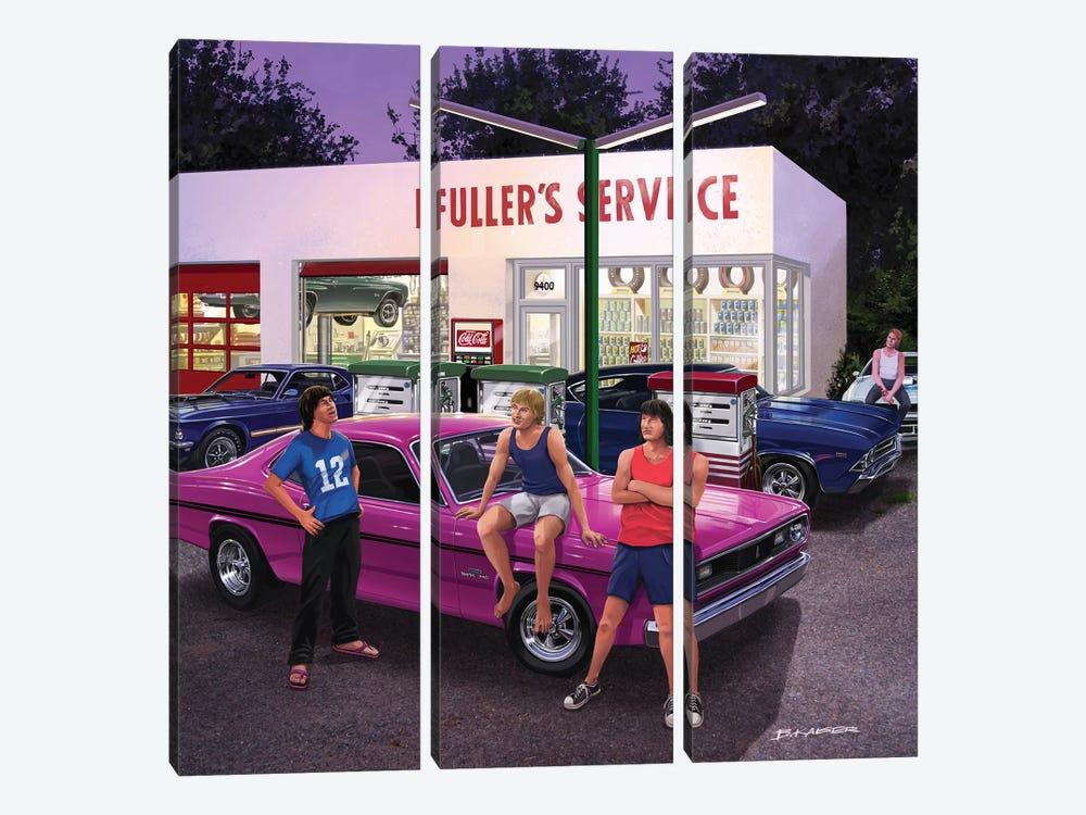 Surviving The '70s by Bruce Kaiser 3-piece Art Print