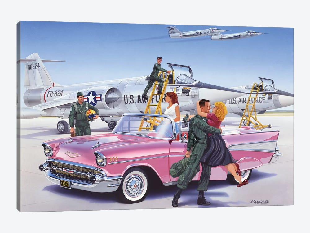 Coming Home by Bruce Kaiser 1-piece Art Print