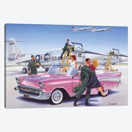 Coming Home Canvas Print #KSR4} by Bruce Kaiser Art Print