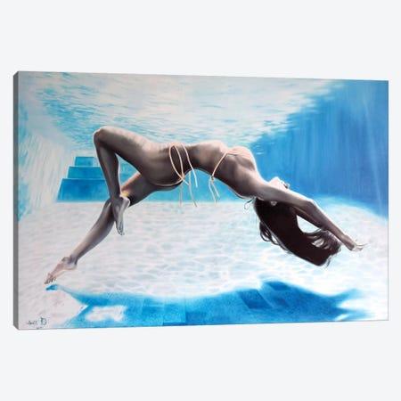 Waves Canvas Print #KST12} by Krestniy Canvas Artwork