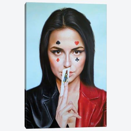 Let's Play Canvas Print #KST16} by Krestniy Canvas Art Print