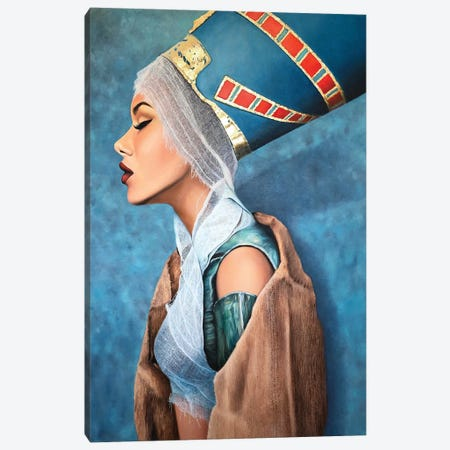 Falling Goddess Canvas Print #KST18} by Krestniy Canvas Art