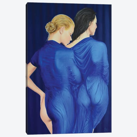 Backstage Canvas Print #KST1} by Krestniy Canvas Art