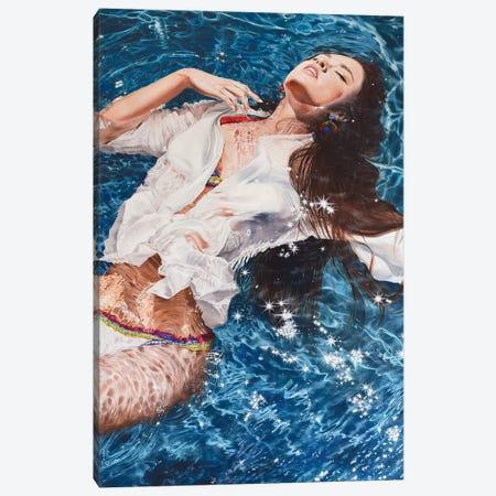 Falling Asleep Canvas Print #KST4} by Krestniy Art Print