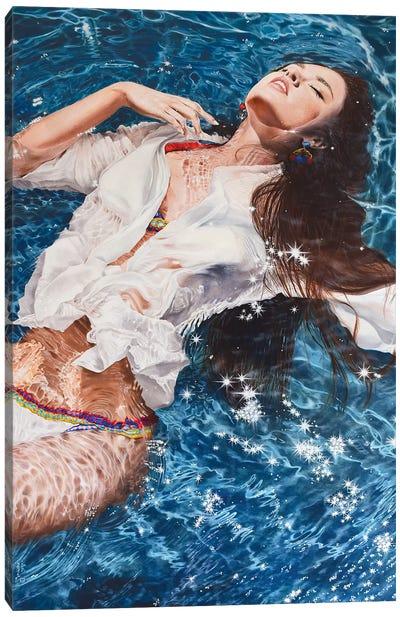 Falling Asleep Canvas Art Print