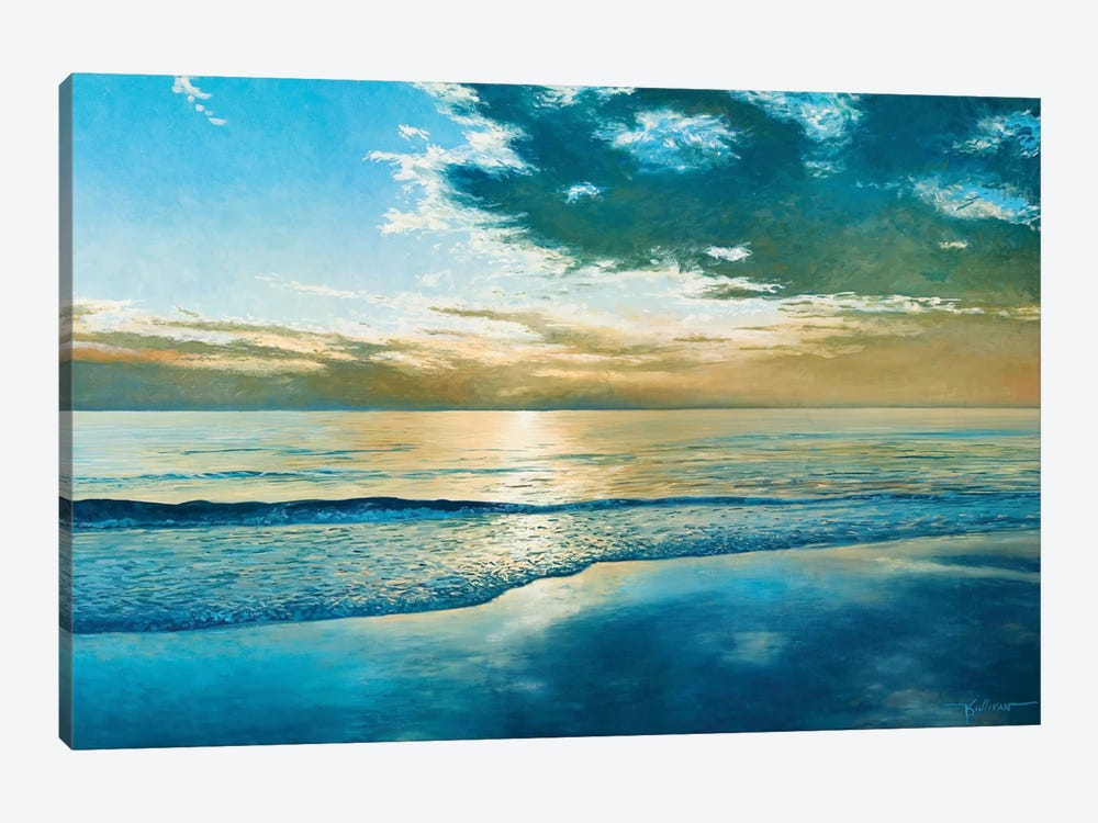 Amelia Island Dawn by Kent Sullivan 1-piece Canvas Art Print