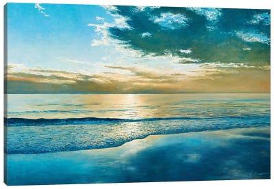 Amelia Island Dawn Canvas Print #KSU1