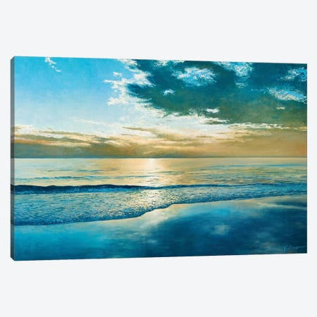 Amelia Island Dawn Canvas Print #KSU1} by Kent Sullivan Canvas Art Print