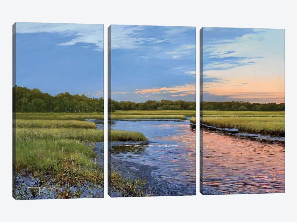 Evening Downs by Kent Sullivan 3-piece Canvas Art Print