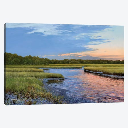 Evening Downs Canvas Print #KSU3} by Kent Sullivan Canvas Print