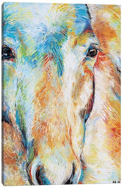 Light Walker Canvas Art Print