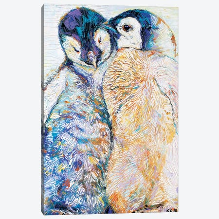 Love Heals Canvas Print #KSV12} by Kathleen Steventon Canvas Art