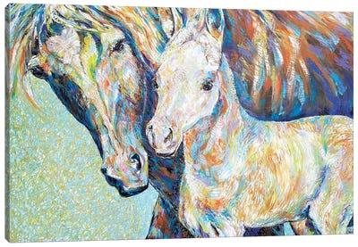 Loving Life Canvas Art Print