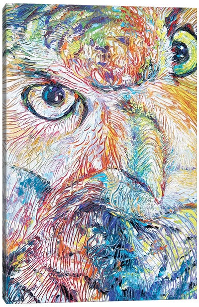 Owl Be Thy Name Canvas Art Print