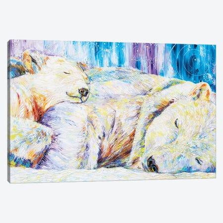 Peaceful Slumber 3-Piece Canvas #KSV16} by Kathleen Steventon Art Print