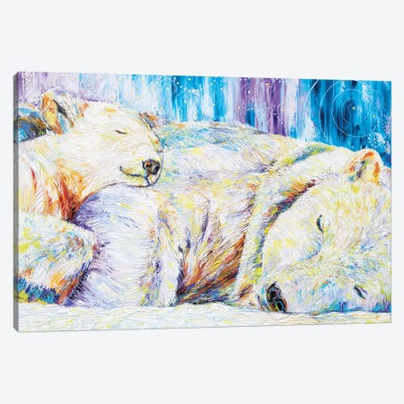 Peaceful Slumber Canvas Print #KSV16} by Kathleen Steventon Art Print