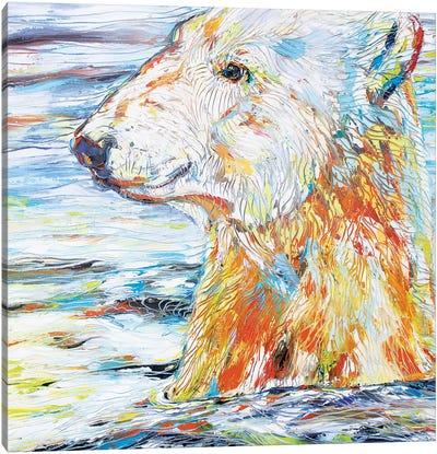 Polar Gaze Canvas Art Print
