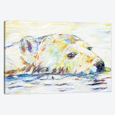 Polar Pleasure Canvas Print #KSV18} by Kathleen Steventon Canvas Art