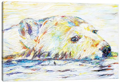 Polar Pleasure Canvas Art Print