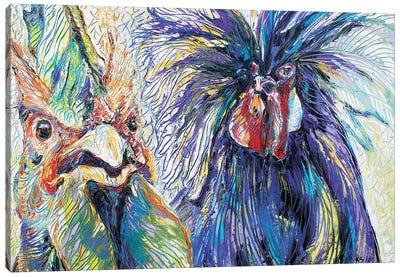 Radiant Rivals Canvas Art Print