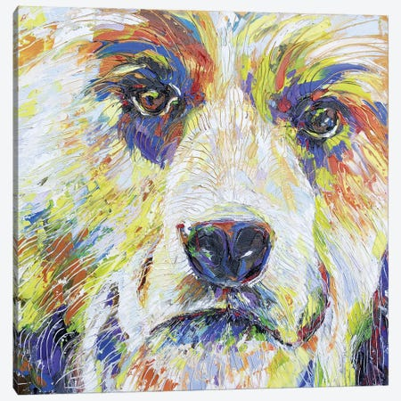 Spirit Bear IV Canvas Print #KSV21} by Kathleen Steventon Canvas Art Print