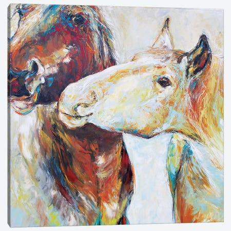 The Light Tease Canvas Print #KSV22} by Kathleen Steventon Canvas Art Print