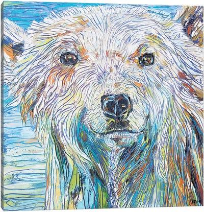 Care For A Swim Canvas Art Print
