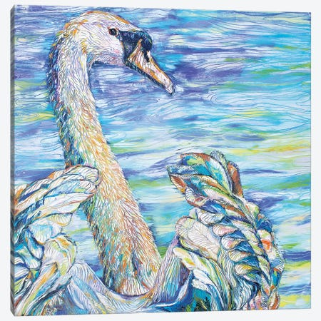 Graceful Insight Canvas Print #KSV5} by Kathleen Steventon Art Print