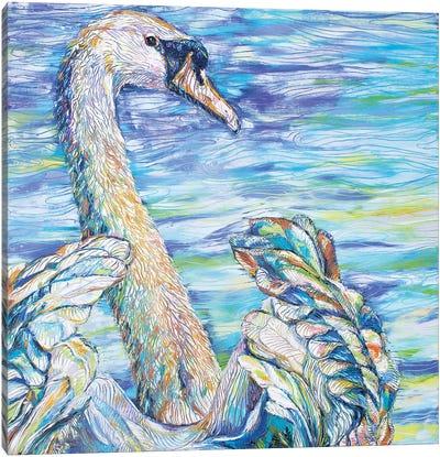 Graceful Insight Canvas Art Print