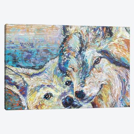 Heart Song Canvas Print #KSV6} by Kathleen Steventon Canvas Print