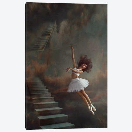 Even If The Sky Falls Canvas Print #KSW1} by Sebastian Kisworo Canvas Art Print