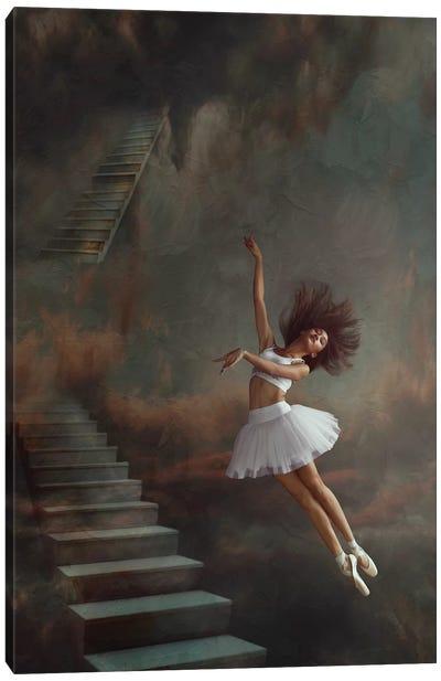 Even If The Sky Falls Canvas Art Print
