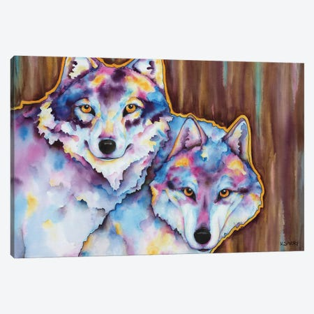 The Call Of The Wild Canvas Print #KSY121} by Karen Savory Canvas Wall Art
