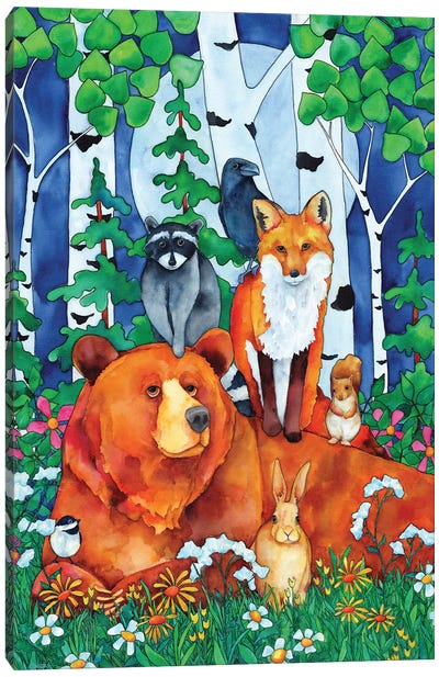 All Creature's Great And Small Canvas Art Print