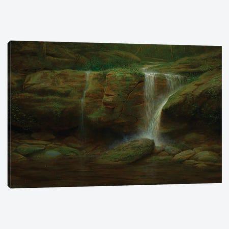 Meditation Falls Canvas Print #KSZ11} by Ken Salaz Canvas Artwork