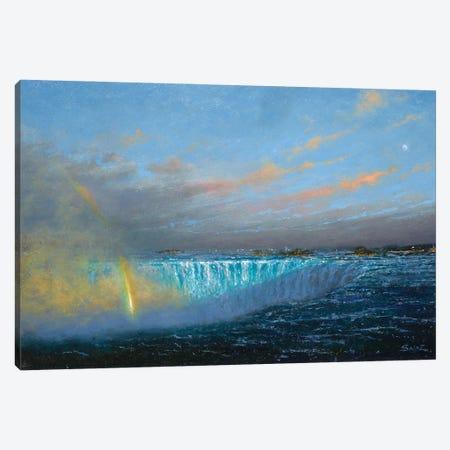 Niagara Falls Canvas Print #KSZ13} by Ken Salaz Canvas Artwork