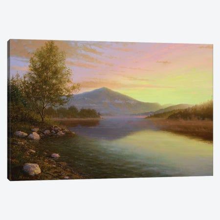 Sunrise Over Lake Placid Canvas Print #KSZ18} by Ken Salaz Canvas Artwork