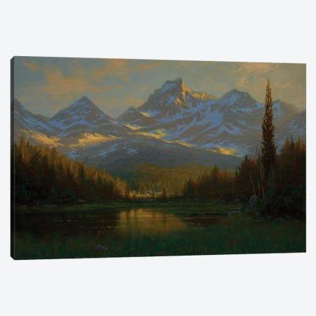 Marsh Lake I Canvas Print #KSZ9} by Ken Salaz Canvas Art