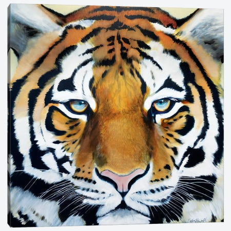Tiger Canvas Print #KTA18} by Katharine Alecse Canvas Art