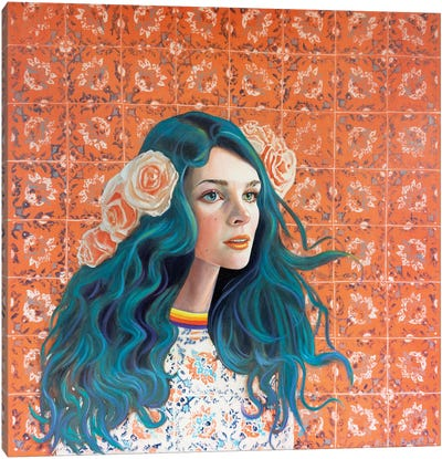 Alex Canvas Art Print
