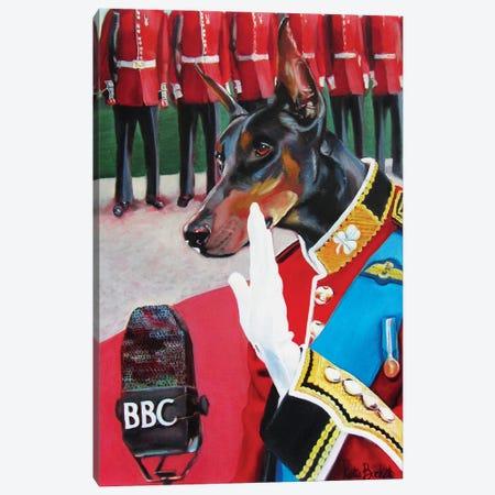 BBC Speech Canvas Print #KTA4} by Katharine Alecse Canvas Artwork