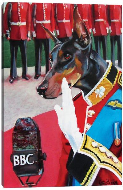 BBC Speech Canvas Art Print