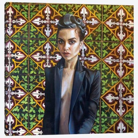 Elodie Canvas Print #KTA7} by Katharine Alecse Canvas Wall Art