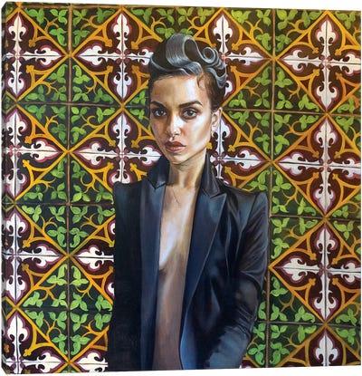 Elodie Canvas Art Print