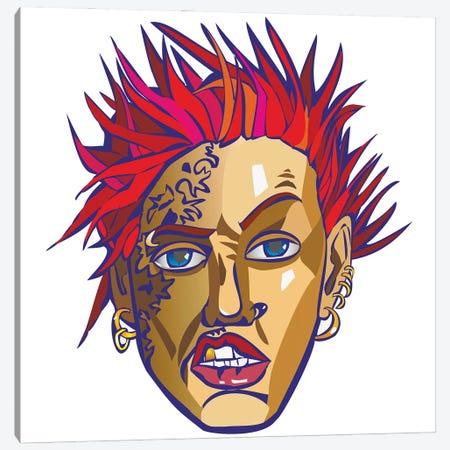 Punk Canvas Print #KTB106} by Kateryna Bortsova Canvas Print
