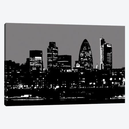 London Skyline Canvas Print #KTB109} by Kateryna Bortsova Canvas Wall Art