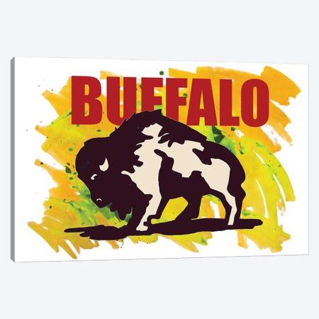 Buffalo Canvas Print #KTB111} by Kateryna Bortsova Canvas Print